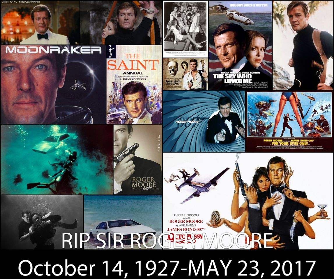 Sir Roger Moore, James Bond actor, dies aged 89 RIP